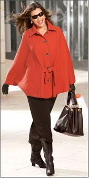 Вязание спицами для детей Читайте также. . Вязаное пальто для полных жен